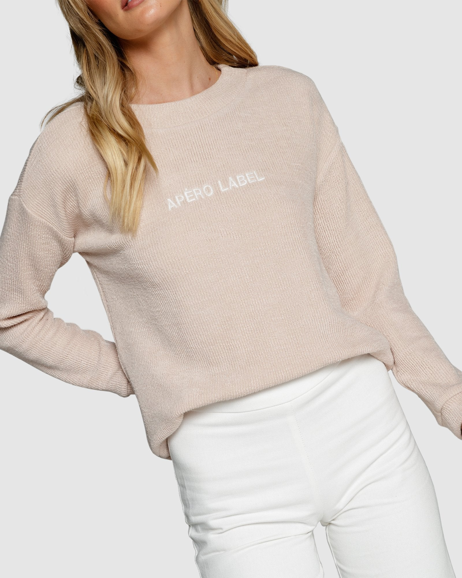 Apero Label Embroidered Jumper