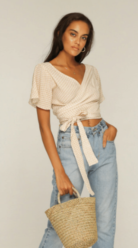 Carolina Wrap Top