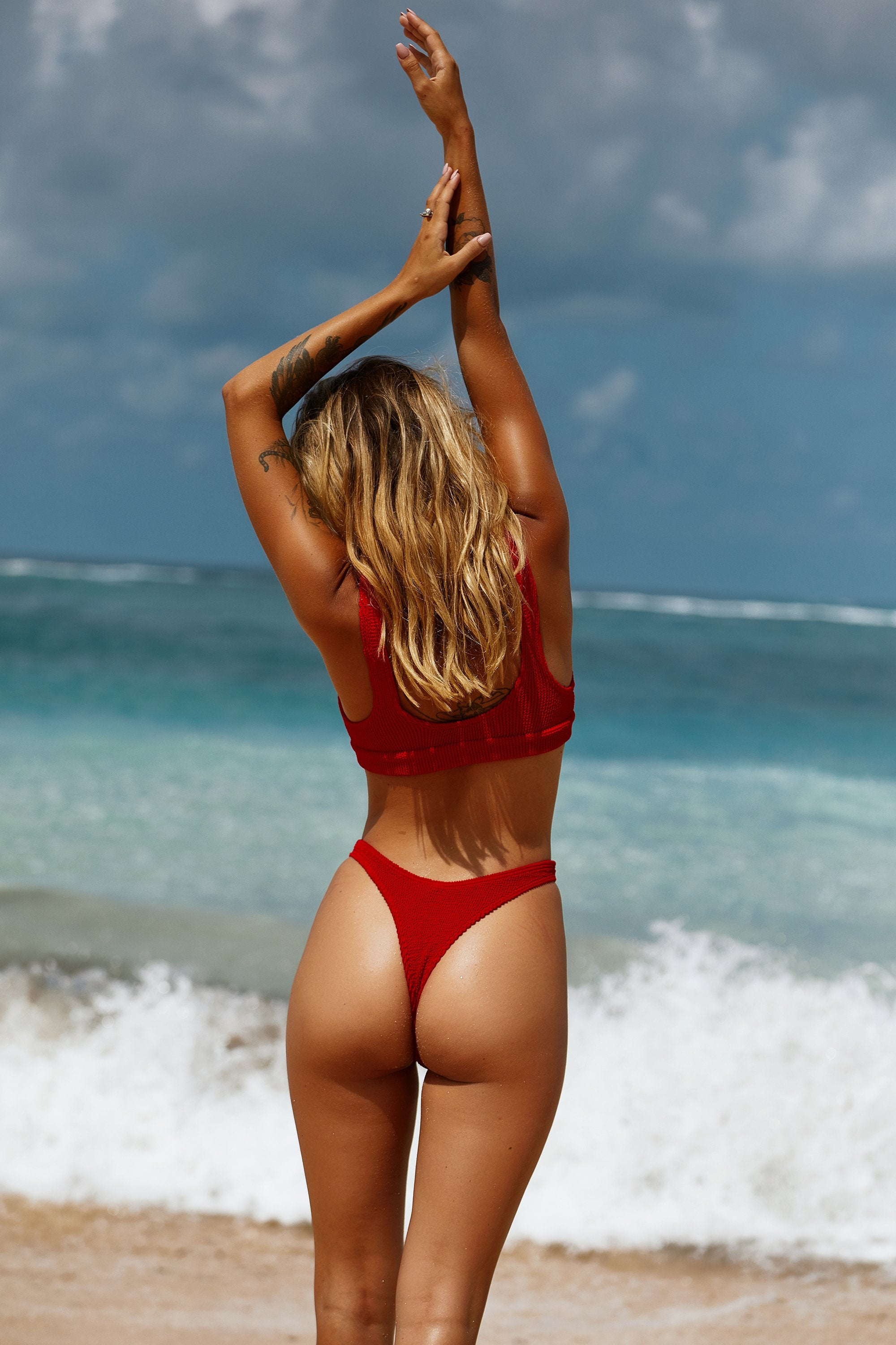 Baywatch Red Saint Top