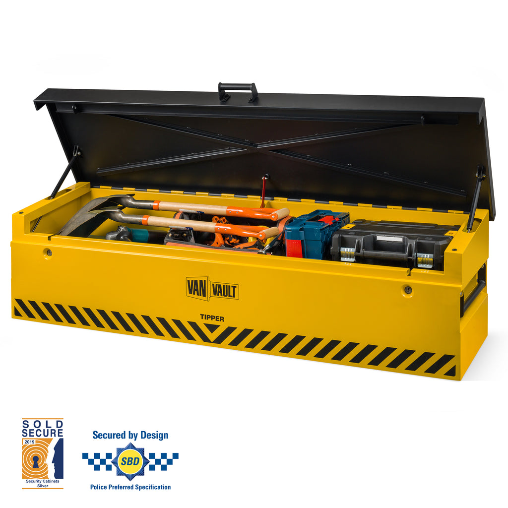 Van Vault Tipper - Secure Tool Box for Larger Tools