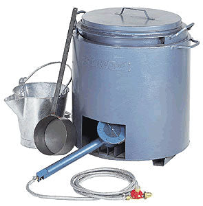 10 Gallon Tar Boiler Kit With Bucket & Ladle
