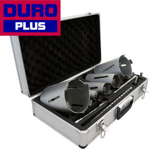 Core Drill Kit Duro Diamond (Plus) 5pc DPDC-KITS5