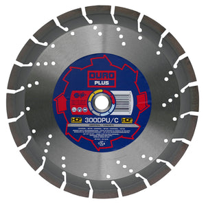 DURO DPU/C Diamond Blade 500mm / 20in - Universal Concrete Blade - View Cutting Details