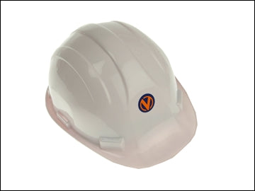 Construction Helmet  - White Delux (VITREX)