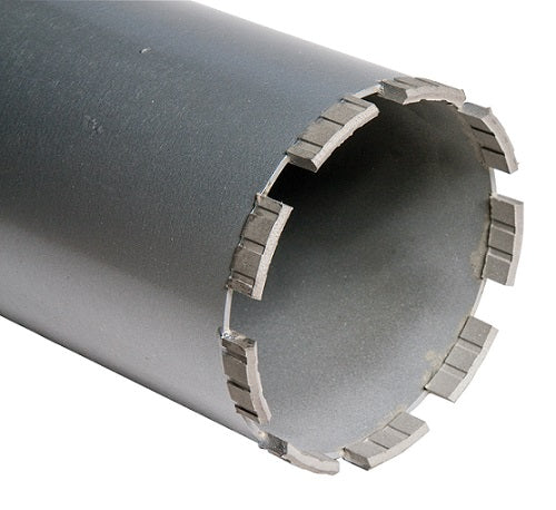 Duro Wet Diamond Core 122mm x 450 x 1-1/4in UNC (F) - DURO