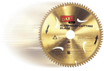 DART Aluminium - Plastic Circular Saw Blade - 120mm, 40 teeth, 20mm bore