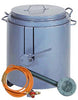 Tar Boiler 25 Gallon with Tap Incl. Burner, Hose & Regulator