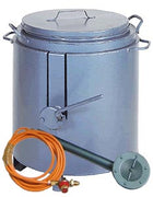 Tar Boiler 10 Gallon with Tap Incl. Burner, Hose & Regulator