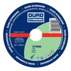 Stone Cutting Disc 115mm/4 1/2 inch - 25 Pack (DURO)