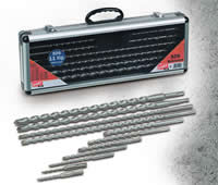 Sds Drill Bit Set - 11 piece masonry (Dart)