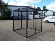 Gas Bottle Storage Cage GC50 H2000 x W2000 x D2000mm (25 x 47kg)