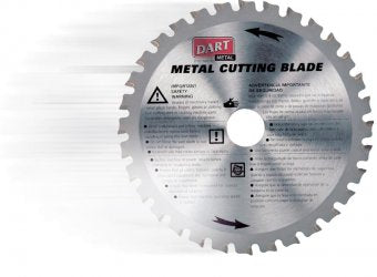 Steel Cutting Circular Saw Blade 255mm X 44T X 25.4B - Dart