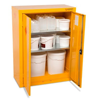 Armorgard HFC5 Safestor Chemical & Flammable Liquid Storage Cabinet W900 x D465 x H1200mm