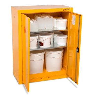 Armorgard HFC5 Safestor Chemical & Flammable Liquid Storage Cabinet W900 x D460 x H1200mm