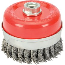 Twist Knot Wire Cup Brush - 100mm x M14 Thread