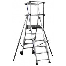 Sherpascopic Telescopic Platform 4 - 6 Treads 3.5m (Zarges)