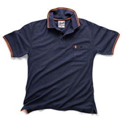 Scruffs Worker polo shirt (Blue) - All Sizes