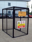 Gas Bottle Storage Cage GC40 H1800 x W1800 x D1200mm (15 x 47kg)