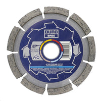 DURO Base DSM Mortar Raking Diamond Blade 125mm / 5in - Hard Materials