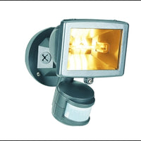 Security Floodlights - with Motion Detector - White (150W) (BYRON)
