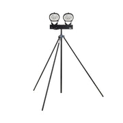 400W Halogen Twin Head Swing Leg Tripod 110V