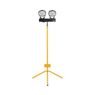 400W Halogen Twin Head Fixed Leg Tripod 110V