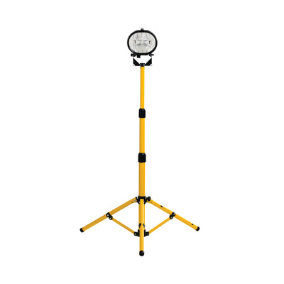 Workshop Halogen Single Head Tripod Work Light 110V