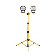 Workshop Halogen Twin Head Tripod Work Light 110V