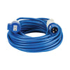 25M Extension Lead - 16A 2.5mm Cable - Blue 240V