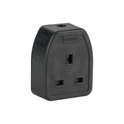 13A 1 Gang Rubber Socket (Box Of 10) 240V