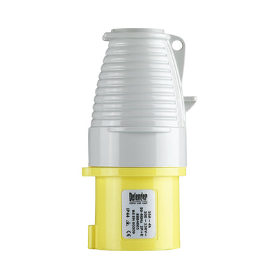 16A Plug - Yellow DISPLAY PACKED 110V (PACK OF 10)