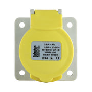 16A Panel Socket - Yellow 110V