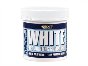 Pipe Jointing Compound - Plumbers White 400G (EVERBUILD)