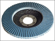 Flap Disc 100mm - 40g Coarse (FAITHFULL)