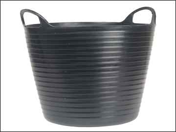 Flexi Tub 42Ltr Heavy Duty - Black Polyethylene