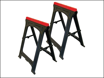 Plastic trestles Twin Pack (FAITHFULL)