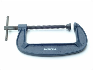 G Clamp - 4in Faithfull