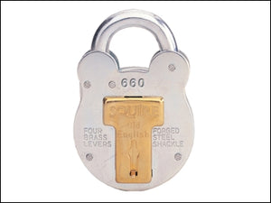 Squire Old English Padlock with Steel Case 64mm (SQUIRE)