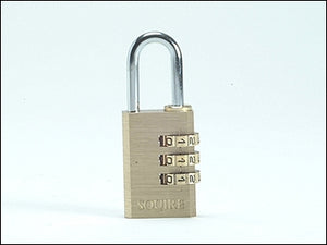 Combination Locker Padlock Brass (SQUIRE)