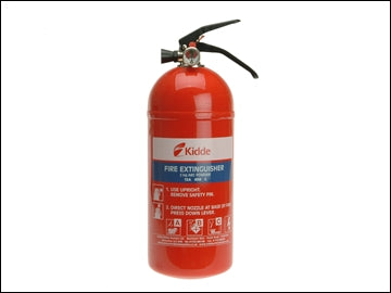 Kidde Fire Extinguisher Multi Purpose 2.0kg ABC (KIDDE)