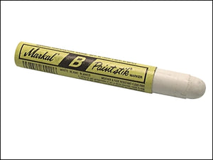 Markal Paint Stick Marker - White