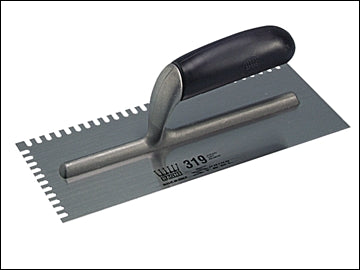 "11"" Mastic Trowel - Serrated Edge 4mm Profile (RAGNI)"