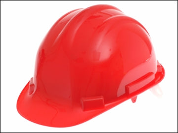 Construction Hard Hat - Red (SCAN)
