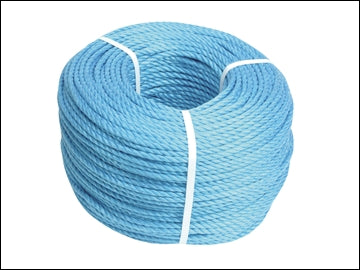 8mm Rope - 20m Blue Polypropylene