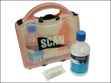 SCAN First Aid Eye Wash Station