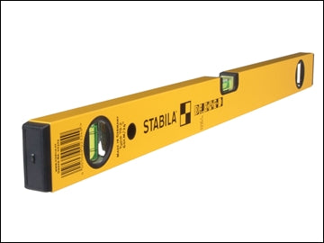 Stabila Double Plumb Spirit Level 3 Vial 180cm