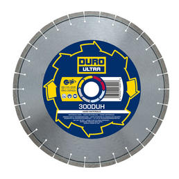 DURO DUH Diamond Blade 300mm / 12in - Hard Materials - View Cutting Details