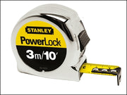 Stanley Powerlock Tape Measure 3m - 10ft