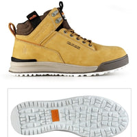 Scruffs Switchback Safety Trainers - Tan Sizes 7-12