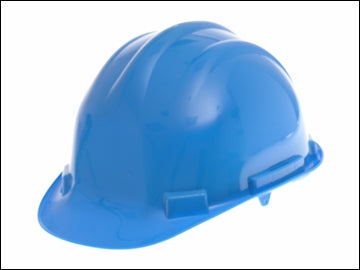 Construction Hard Hat - Blue (SCAN)